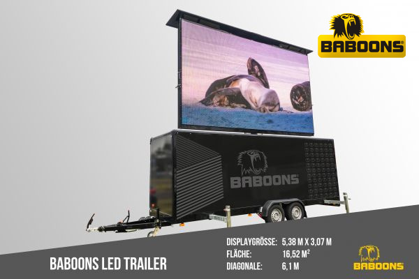 BABOONS LED Trailer